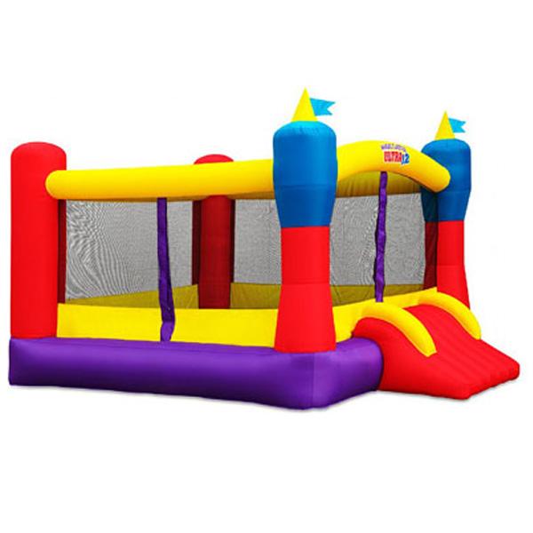 Jeu gonflable r sidentiel et glissade d 39 eau en location jeux a rofun - Structure gonflable achat ...